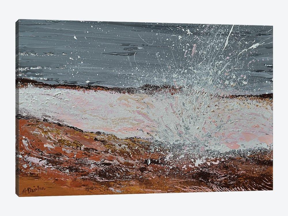 Breaking Waves I by Adriana Dziuba 1-piece Canvas Art Print