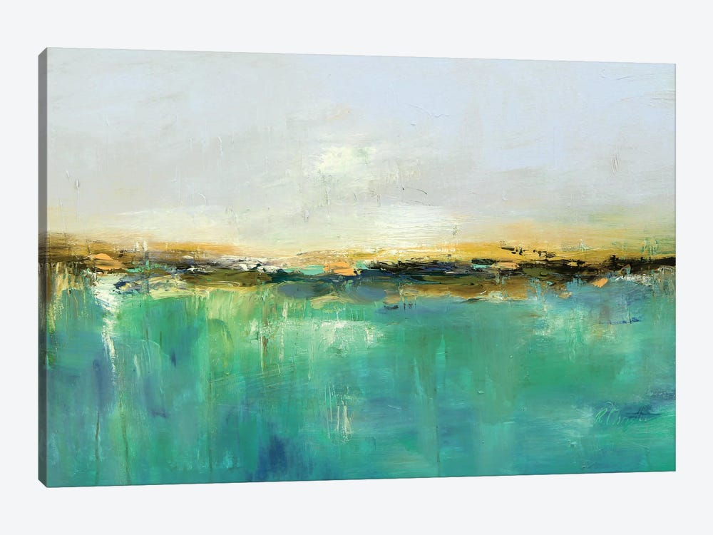 Abstract Landscape XIX by Radiana Christova 1-piece Canvas Artwork