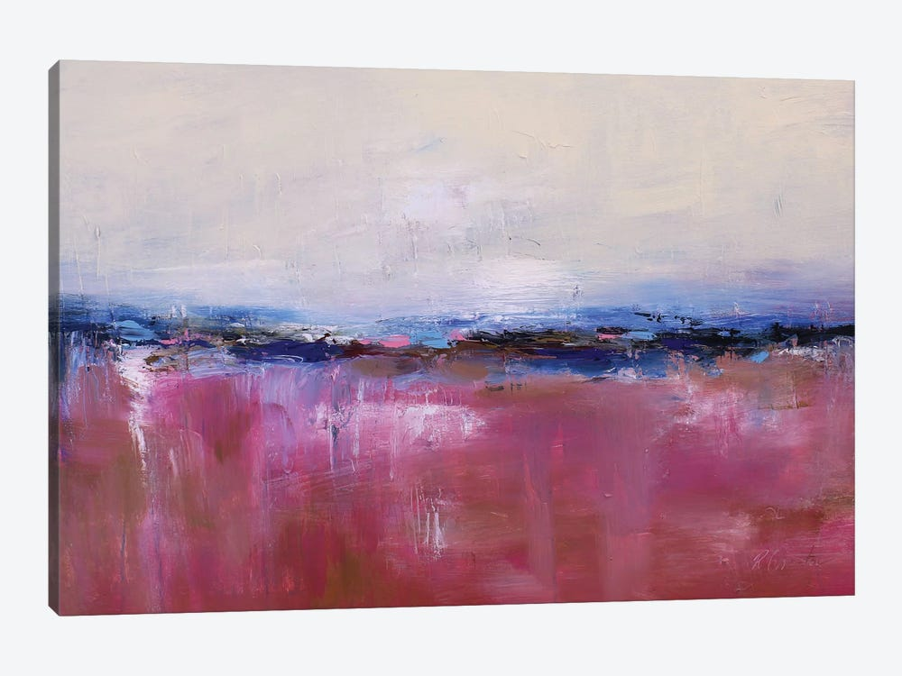 Abstract Landscape XX by Radiana Christova 1-piece Canvas Art Print