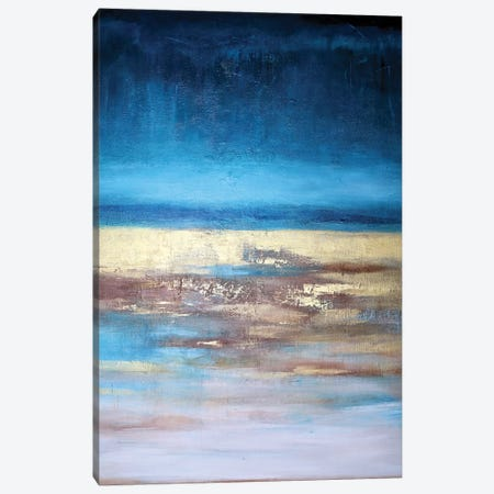 Abstract Landscape XIV Canvas Print #DZH126} by Radiana Christova Canvas Art Print