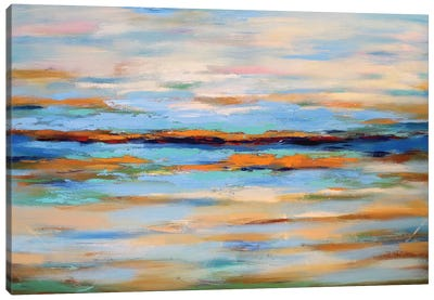 Abstract Seascape Canvas Art Print