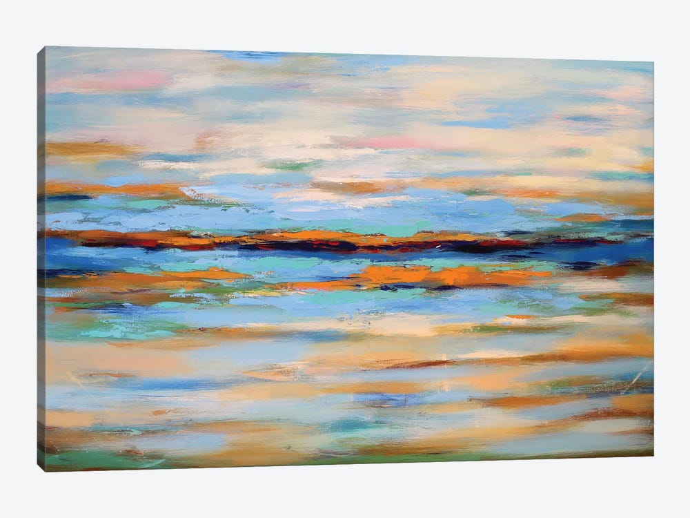 Abstract Seascape by Radiana Christova 1-piece Canvas Art