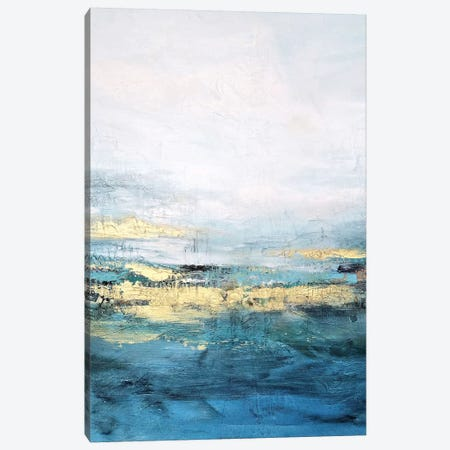 Golden Horizon Canvas Print #DZH131} by Radiana Christova Canvas Print