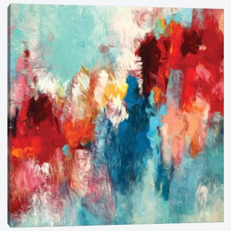 Abstraction II Canvas Print #DZH136} by Radiana Christova Canvas Artwork