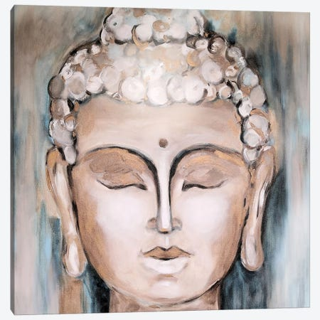 Buddha Canvas Print #DZH137} by Radiana Christova Canvas Wall Art