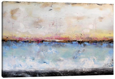 Abstract Seascape VII Canvas Print #DZH13