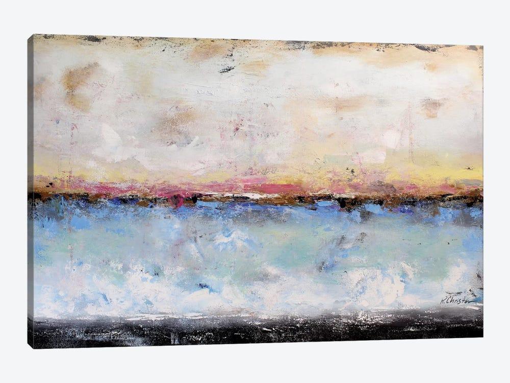 Abstract Seascape VII by Radiana Christova 1-piece Canvas Print