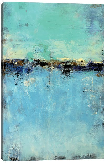 Abstract Seascape IX Canvas Print #DZH14