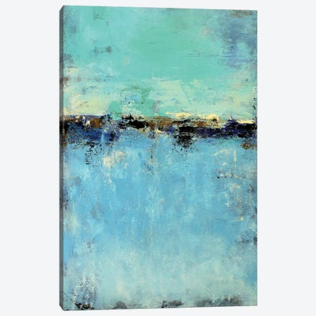 Abstract Seascape IX Canvas Print #DZH14} by Radiana Christova Canvas Art