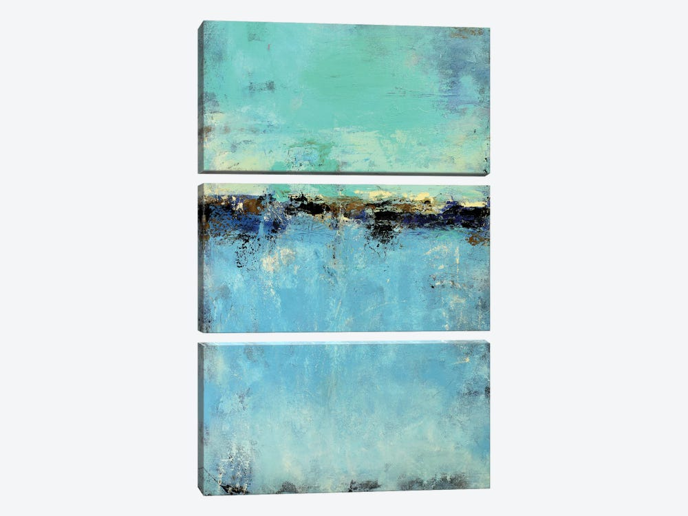 Abstract Seascape IX 3-piece Canvas Artwork