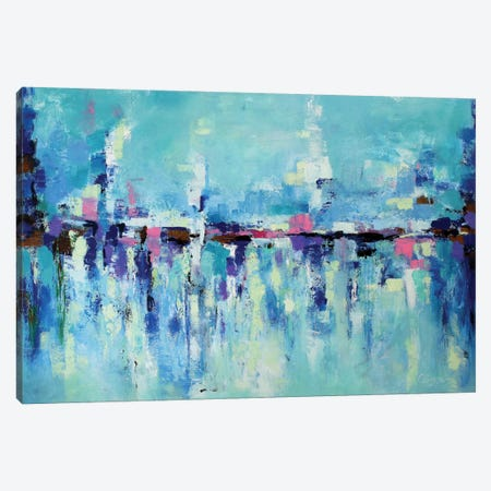Abstract Seascape X Canvas Print #DZH15} by Radiana Christova Canvas Wall Art