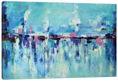 Abstract Seascape X Canvas Print #DZH15