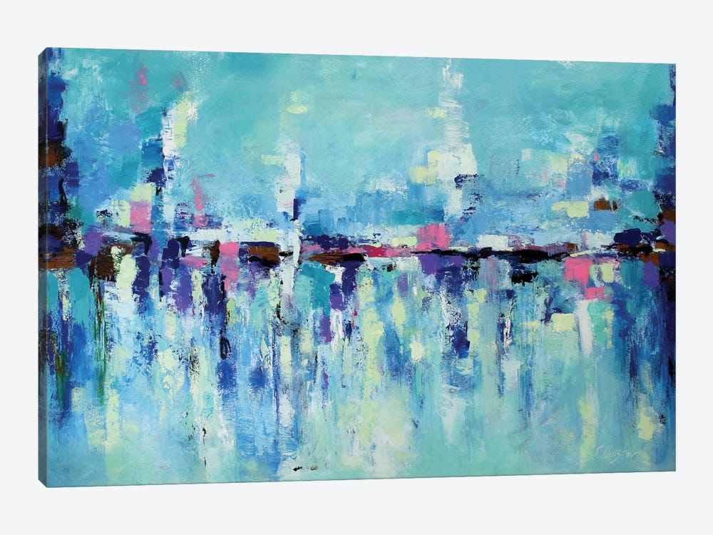 Abstract Seascape X by Radiana Christova 1-piece Canvas Print