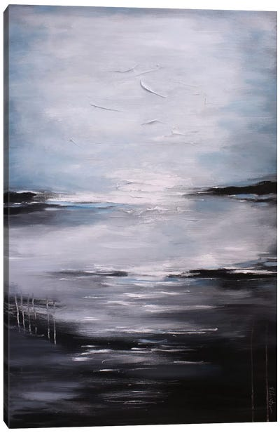 Abstract Seascape XI Canvas Print #DZH16