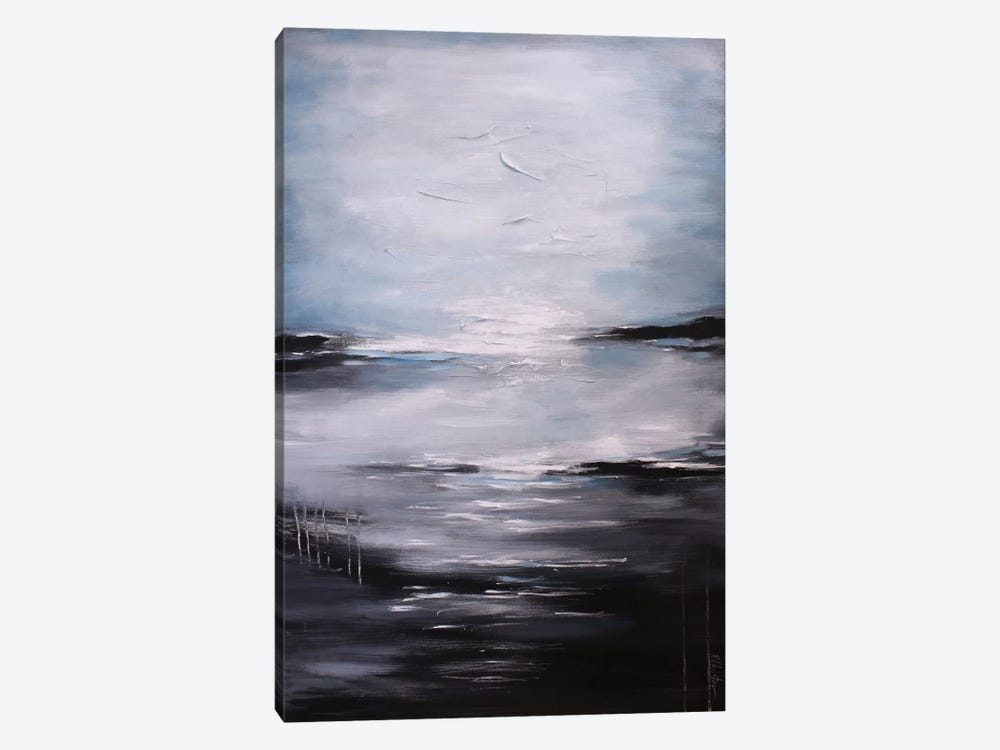 Abstract Seascape XI by Radiana Christova 1-piece Canvas Art