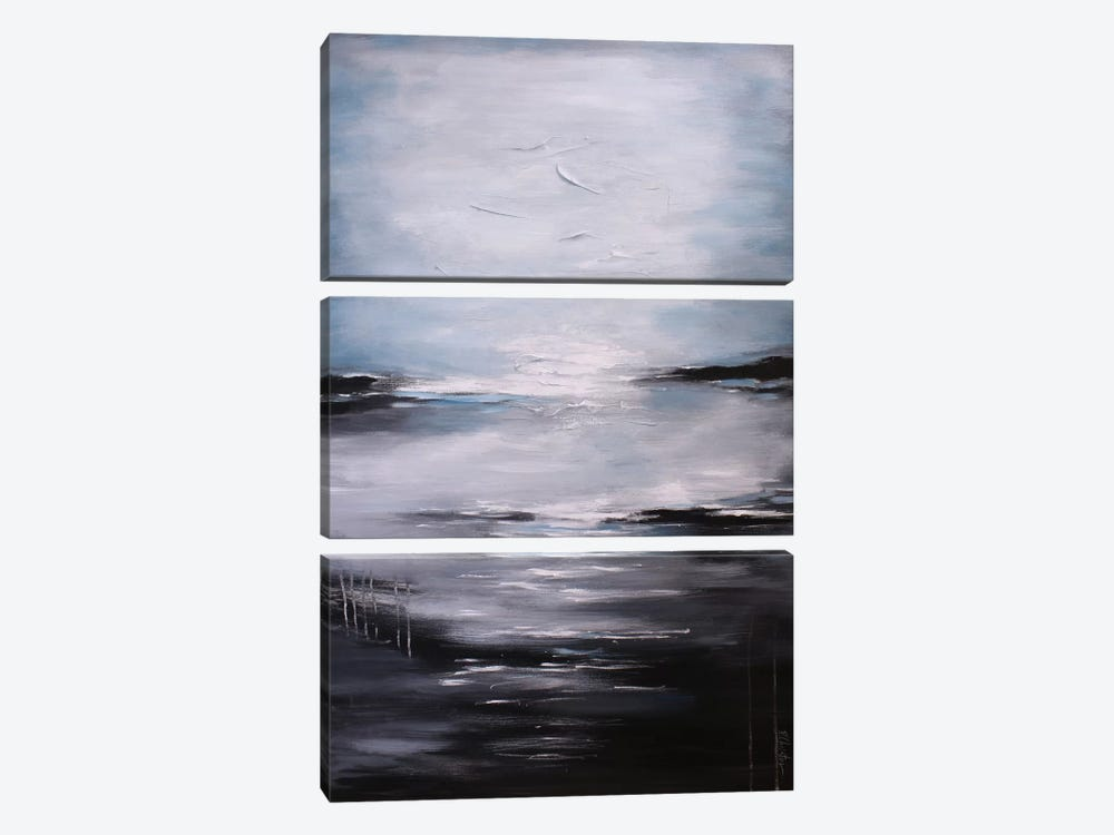 Abstract Seascape XI by Radiana Christova 3-piece Canvas Artwork