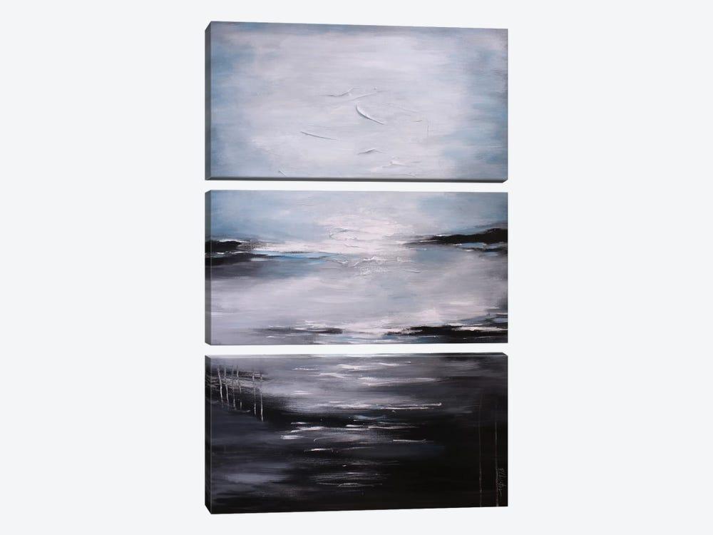 Abstract Seascape XI by Radiana Christova 3-piece Canvas Artwork