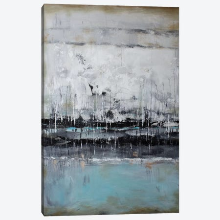Abstract Seascape XII Canvas Print #DZH17} by Radiana Christova Canvas Artwork