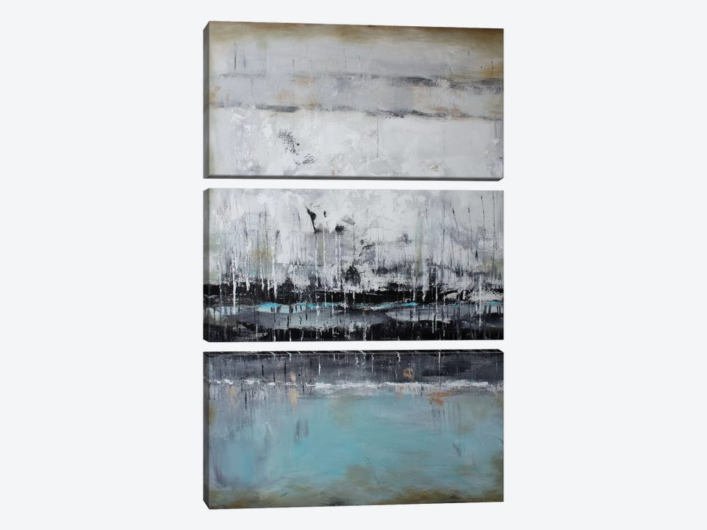 Abstract Seascape XII by Radiana Christova 3-piece Art Print
