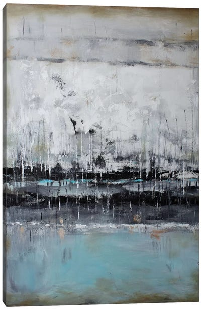 Abstract Seascape XII Canvas Art Print