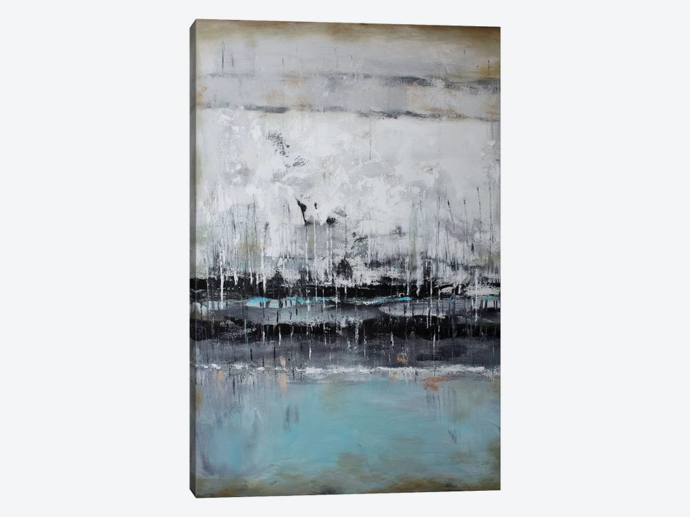 Abstract Seascape XII by Radiana Christova 1-piece Canvas Print