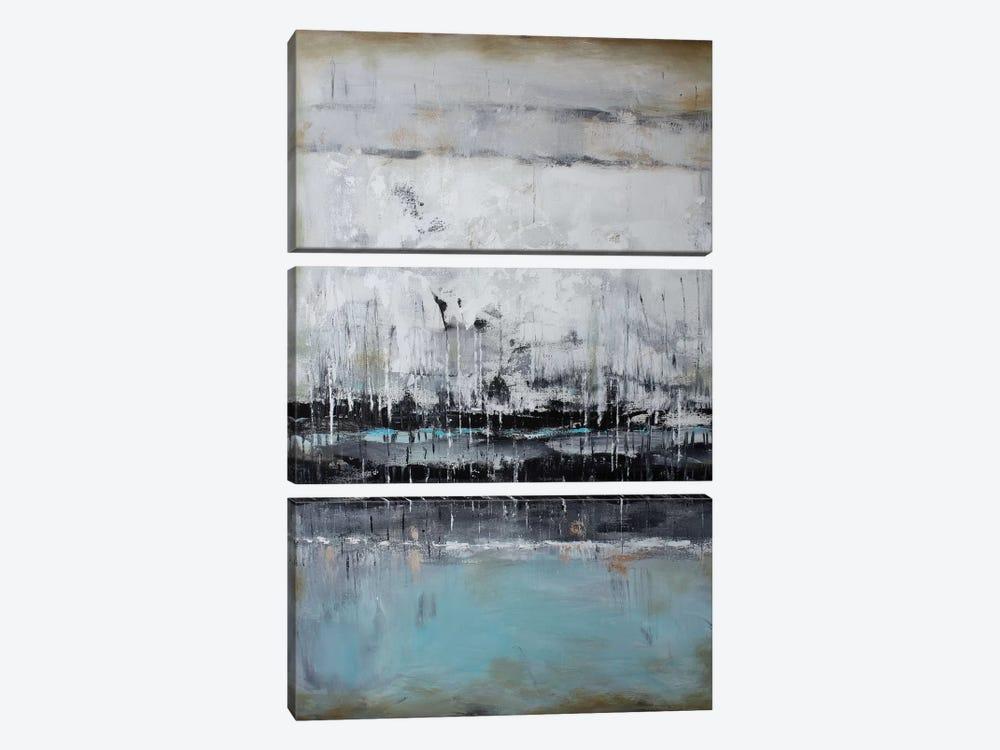 Abstract Seascape XII by Radiana Christova 3-piece Art Print