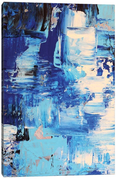 Blue Abstract I Canvas Art Print