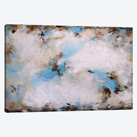 Blue Harmony Canvas Print #DZH21} by Radiana Christova Canvas Artwork