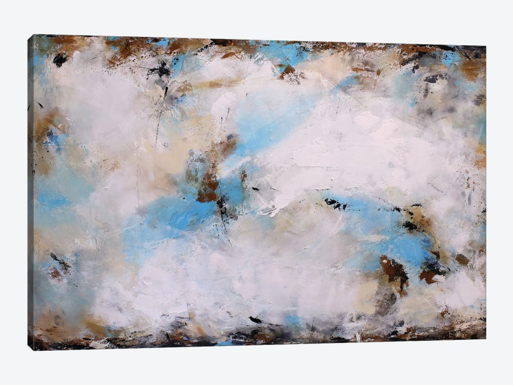 Blue Harmony by Radiana Christova 1-piece Canvas Art