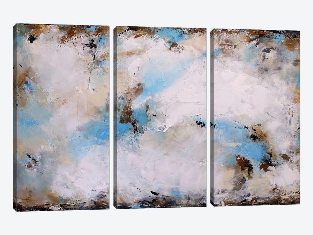 Blue Harmony by Radiana Christova 3-piece Canvas Artwork