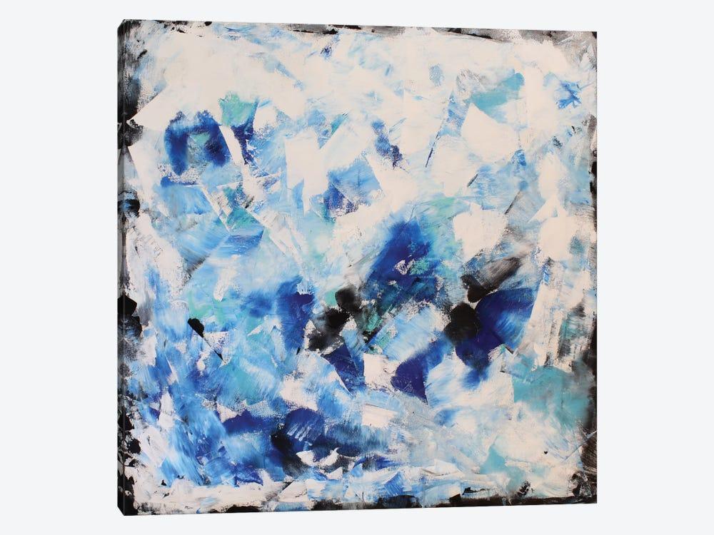 Blue Impression by Radiana Christova 1-piece Canvas Print