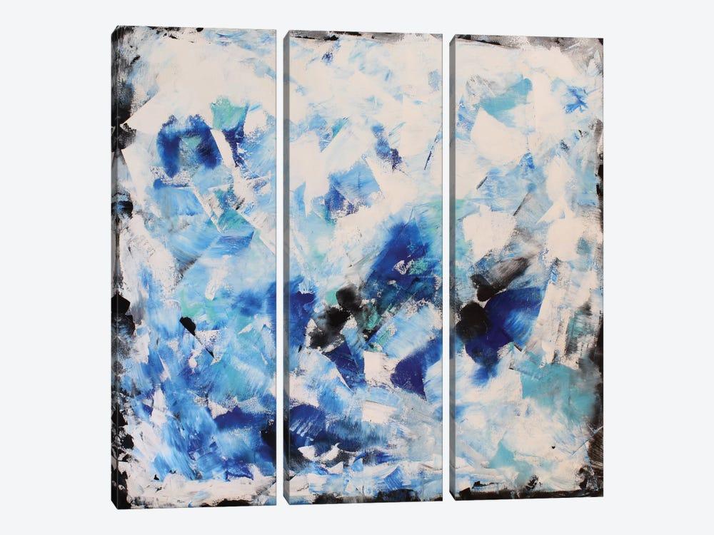 Blue Impression by Radiana Christova 3-piece Art Print