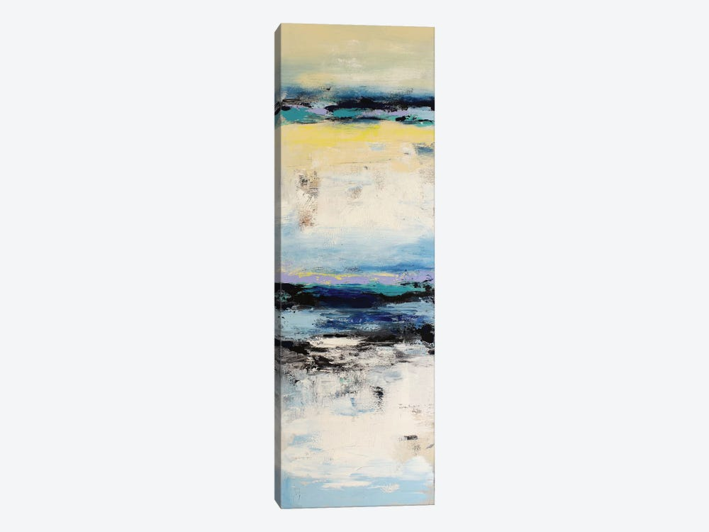 Coastal Abstraction I 1-piece Canvas Wall Art