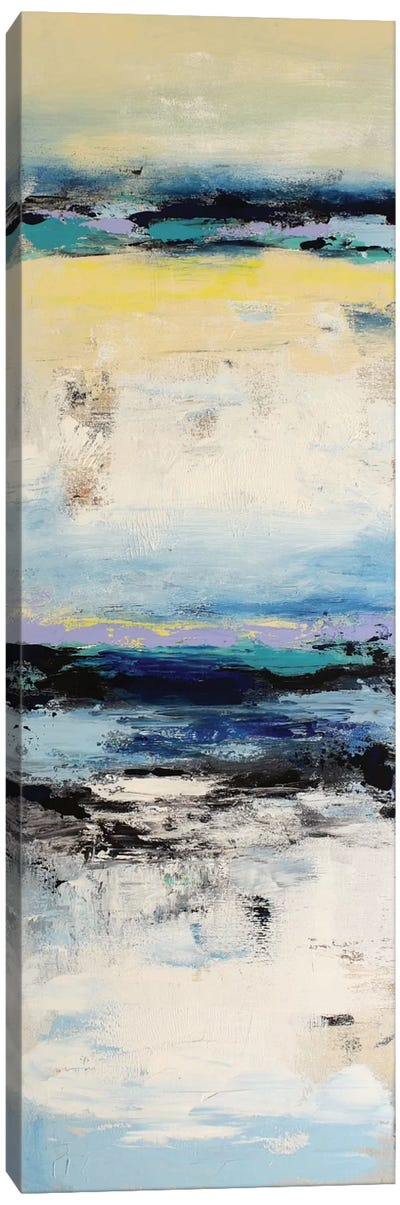 Coastal Abstraction I Canvas Art Print