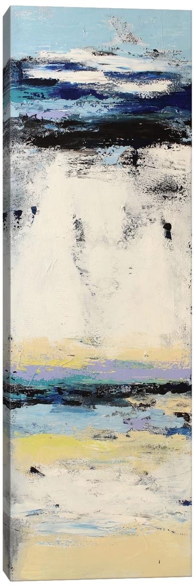 Coastal Abstraction II Canvas Art Print
