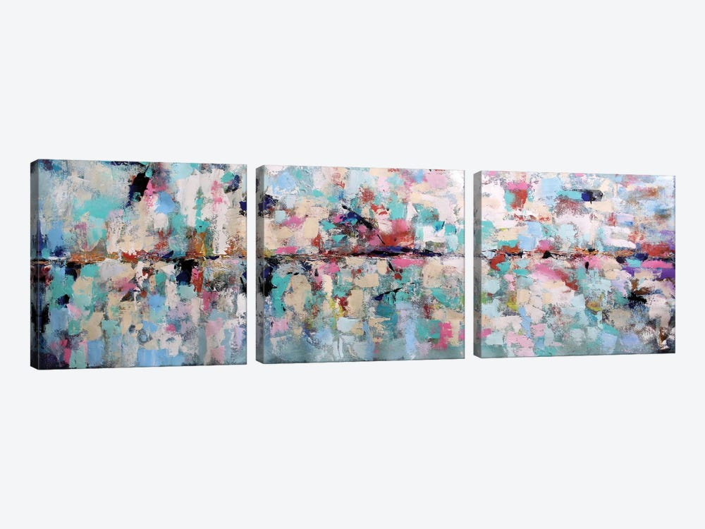 Colorful Dream by Radiana Christova 3-piece Canvas Print