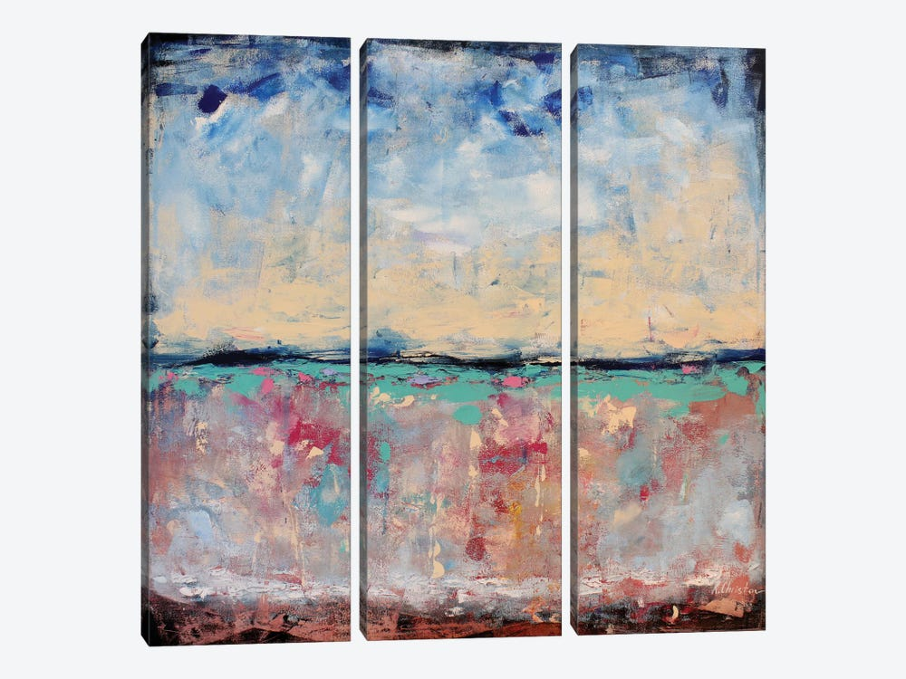 Dreaming by Radiana Christova 3-piece Canvas Art Print