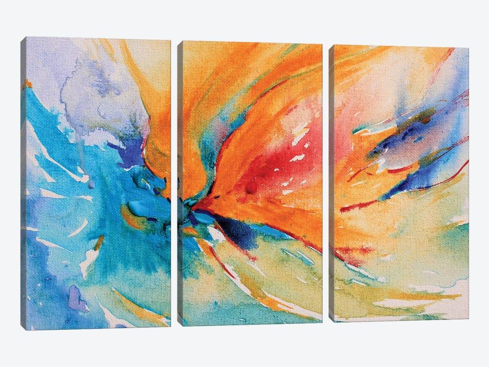 Happiness by Radiana Christova 3-piece Canvas Print