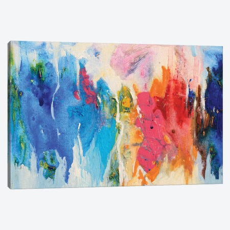 Abstract Composition XIV Canvas Print #DZH3} by Radiana Christova Canvas Artwork