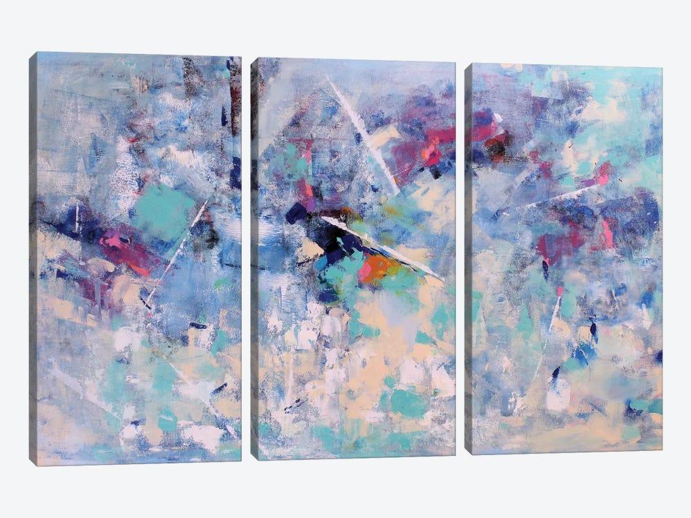 Melody II by Radiana Christova 3-piece Canvas Wall Art