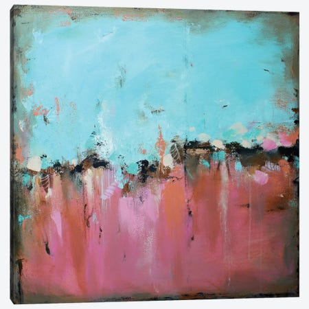 Morning Walk Canvas Print #DZH43} by Radiana Christova Canvas Art
