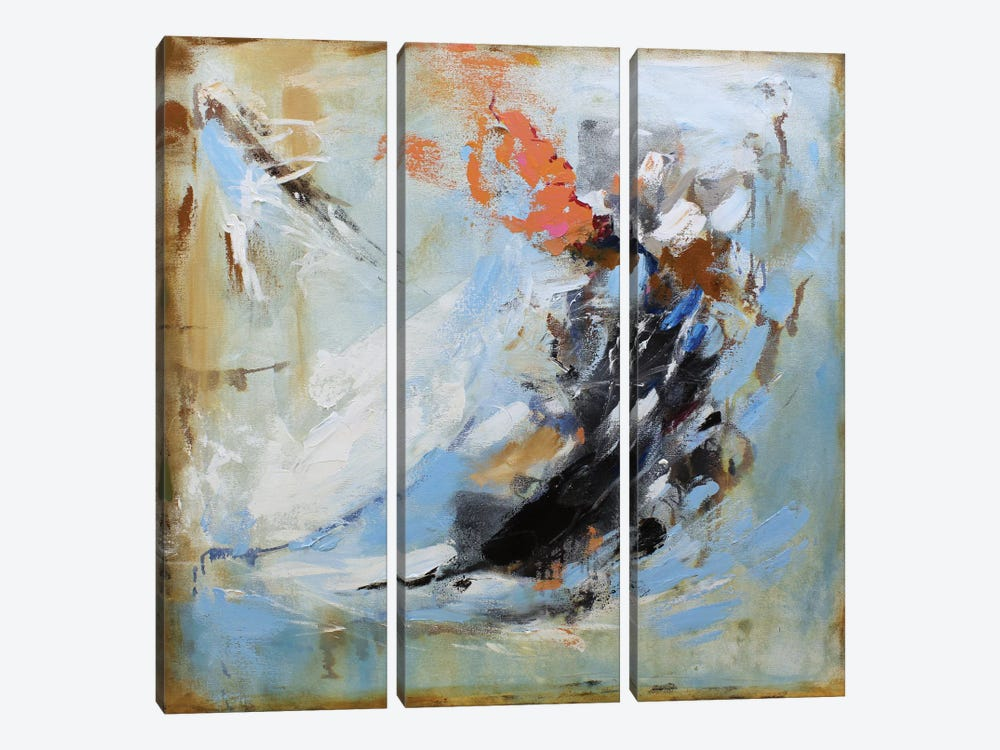 Passion II by Radiana Christova 3-piece Canvas Artwork
