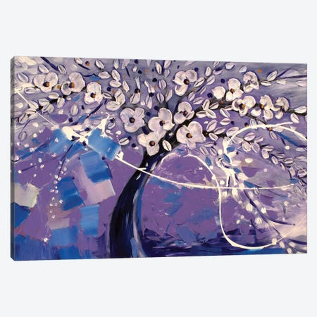 Purple Dream Canvas Print #DZH48} by Radiana Christova Canvas Art