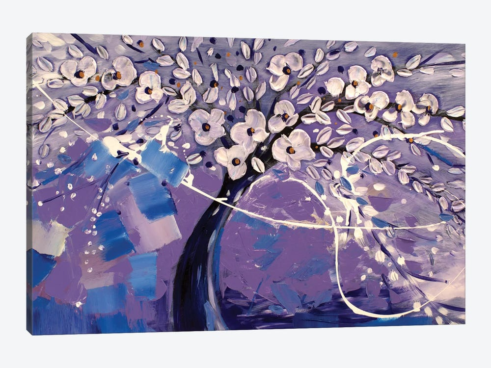 Purple Dream by Radiana Christova 1-piece Canvas Art Print