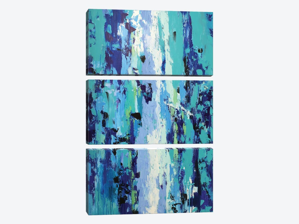 River Of Emotions by Radiana Christova 3-piece Canvas Print