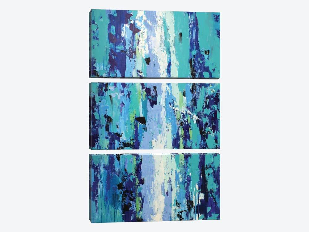River Of Emotions by Radiana Christova 3-piece Canvas Print