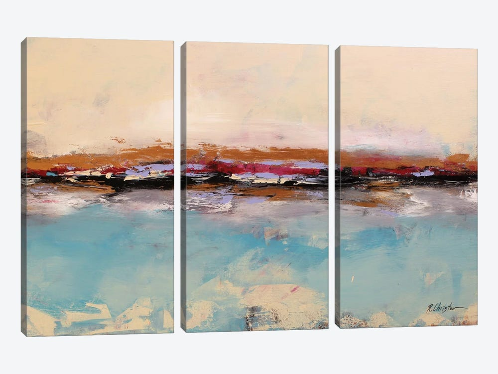 Seascape by Radiana Christova 3-piece Canvas Artwork