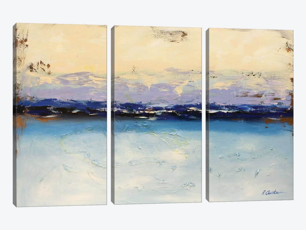 Summer Memories by Radiana Christova 3-piece Canvas Artwork