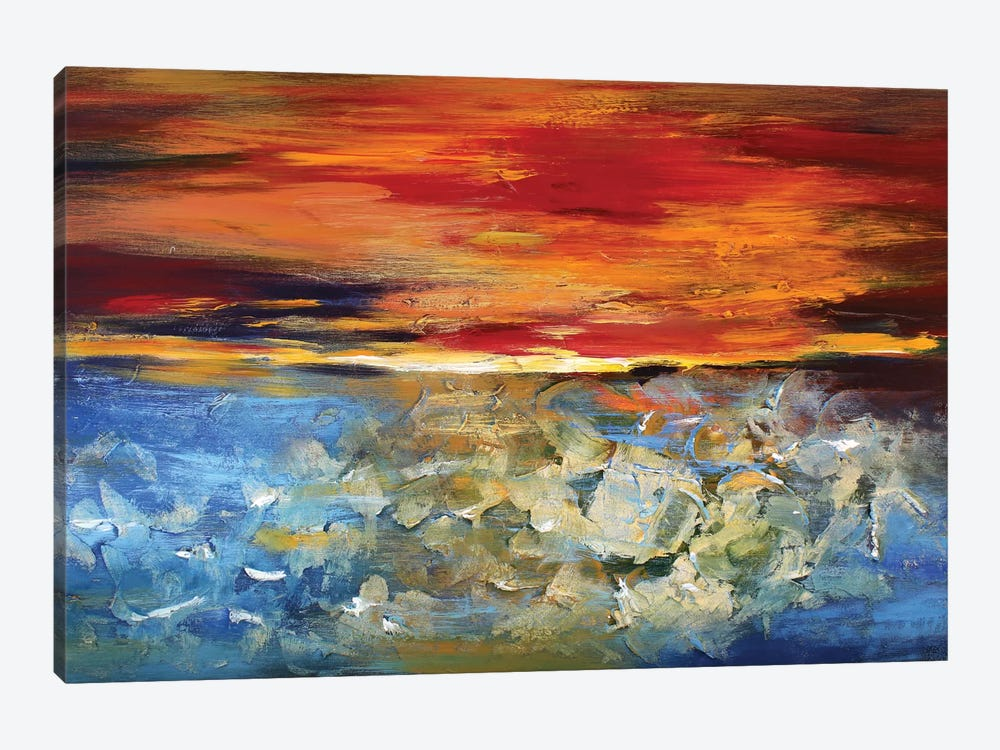 Sunset 1-piece Art Print