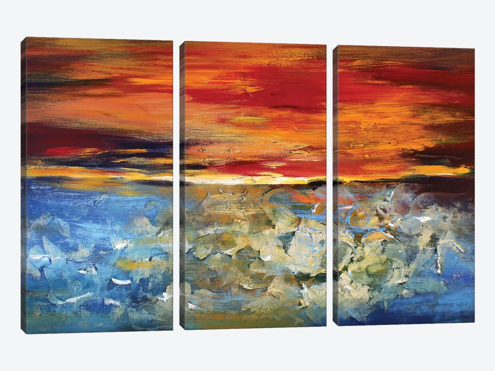 Sunset 3-piece Art Print